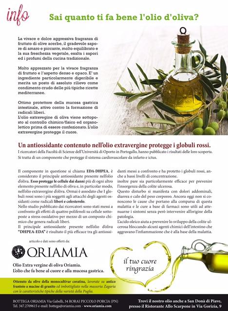 Sai quanto ti fa bene l\'olio d\'oliva? | Bottega Oriamia